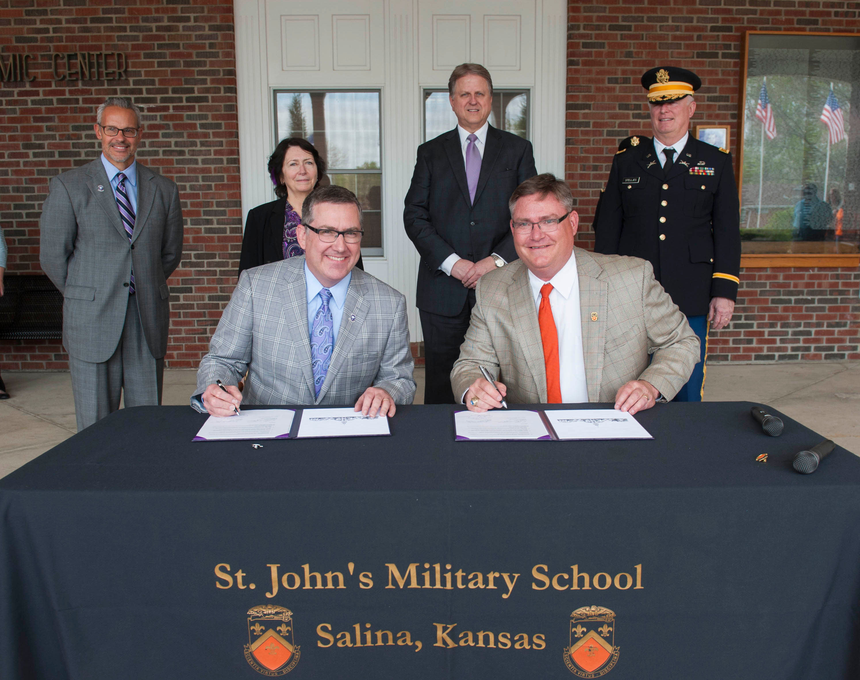 K-State, St. John's Military School Join Forces