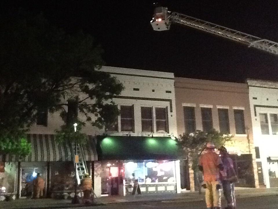 Fire Damages Downtown Loft