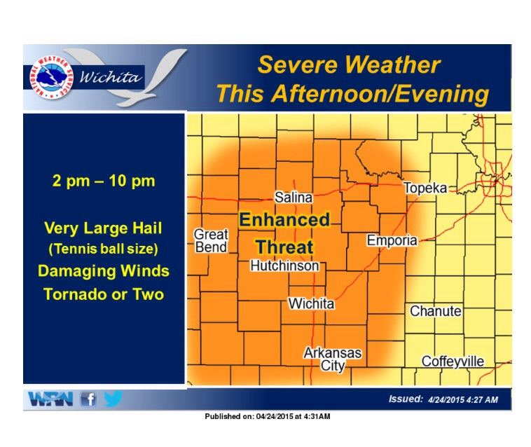Severe Weather Possible Friday