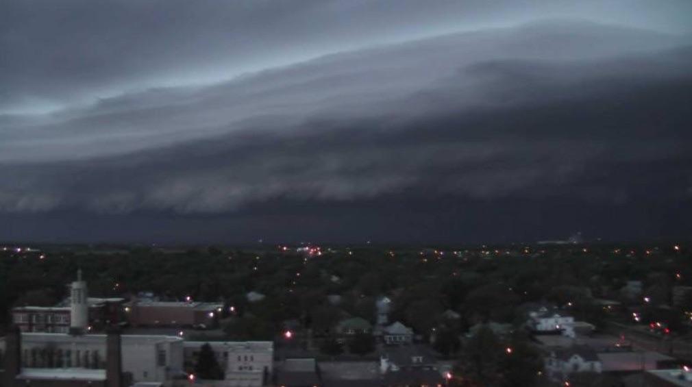 Storms Drop Hail, Tornadoes