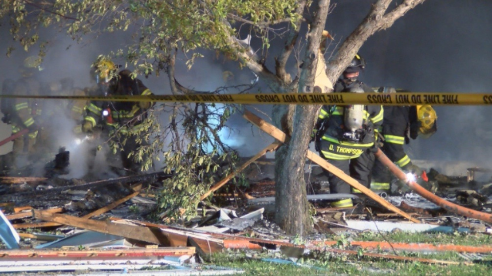 One Killed When Home Explodes