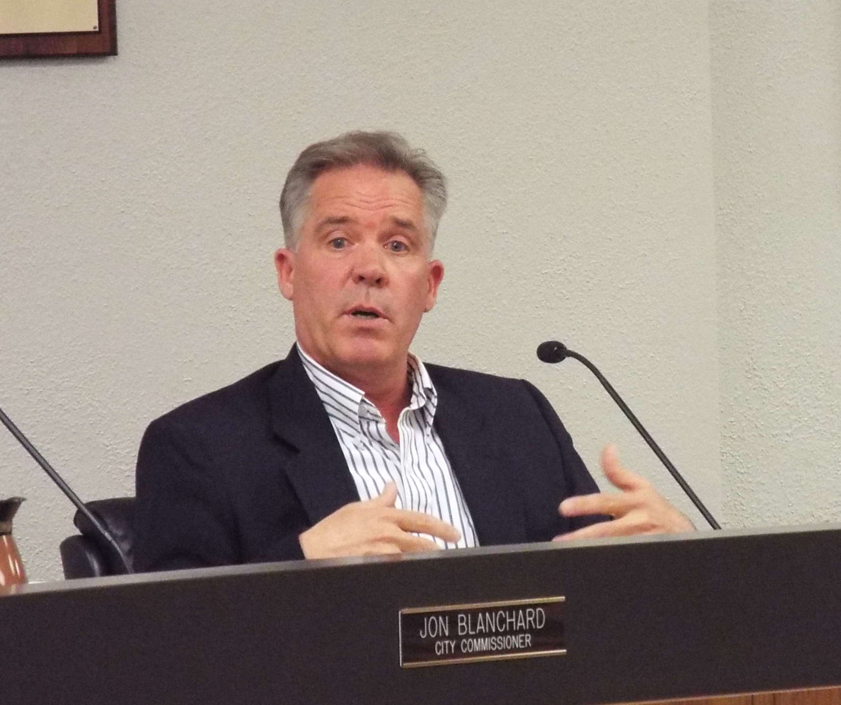 Blanchard Drops Out of City Commission Race