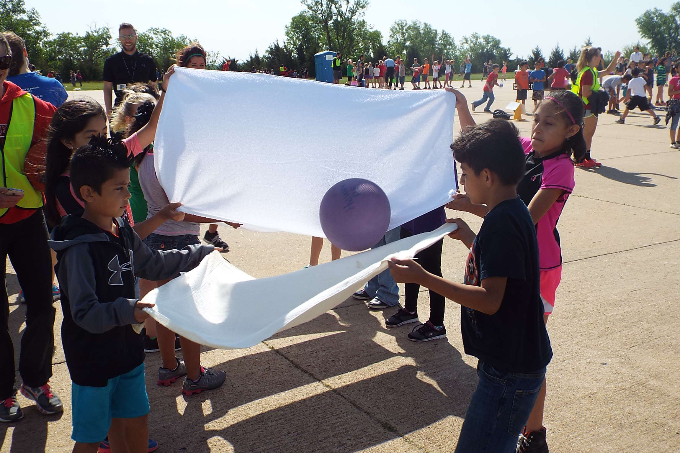 Salina Part Of Kansas Kids Fitness Day