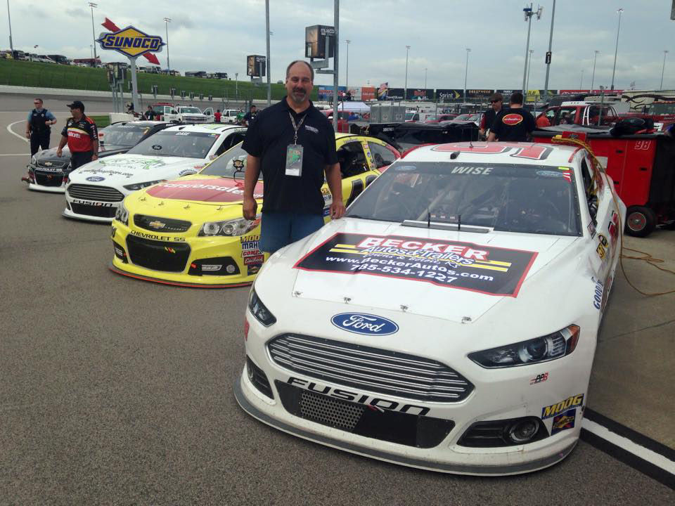 Local Company Sponsors NASCAR Driver At Kansas Speedway