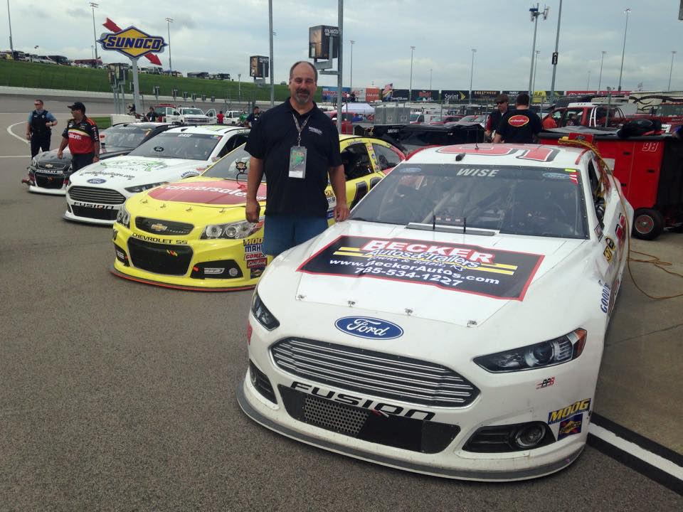 Local Company Sponsors NASCAR Driver At Kansas Speedway