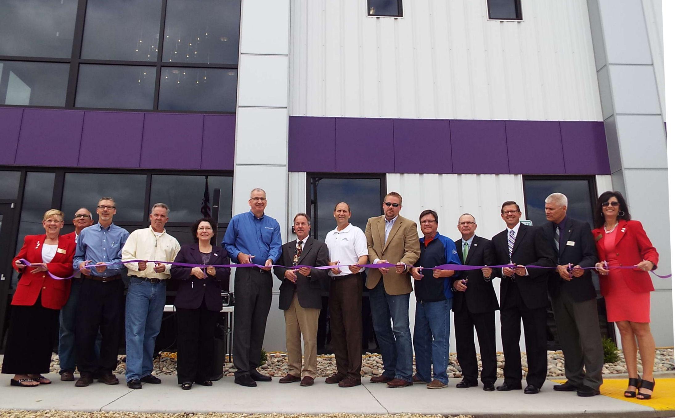 Ribbon Cut On Bulk Solids Innovation Center