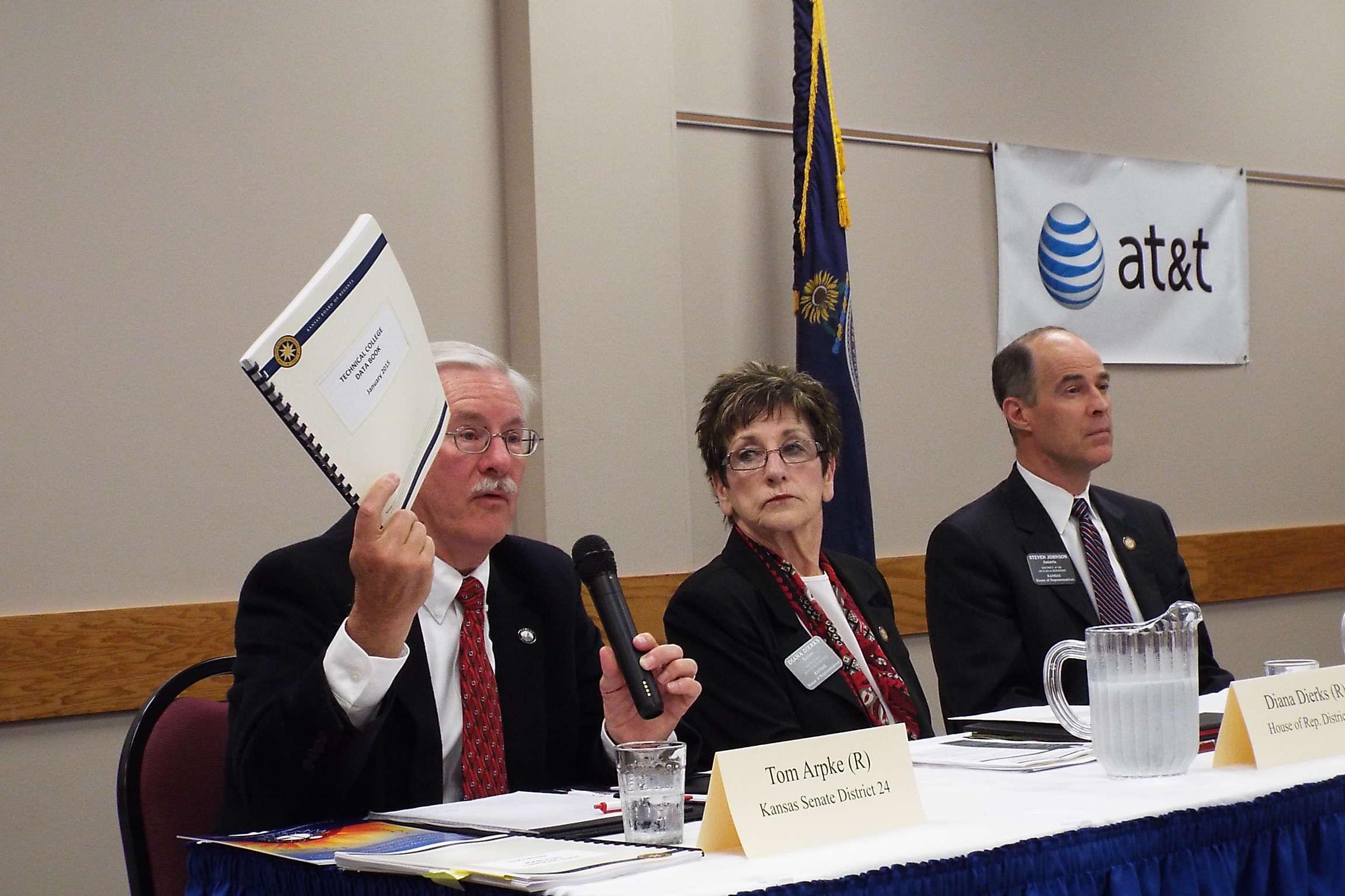 Legislators Talk Taxes, Education In Salina