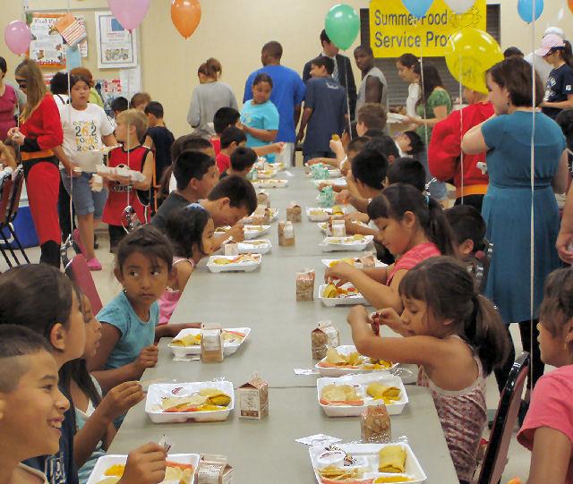 Salina Free Summer Lunch Program Begins