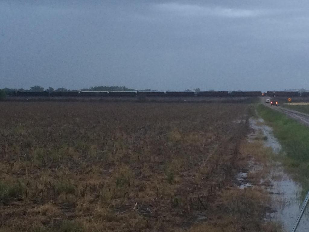 Weekend Severe Weather Derails Train
