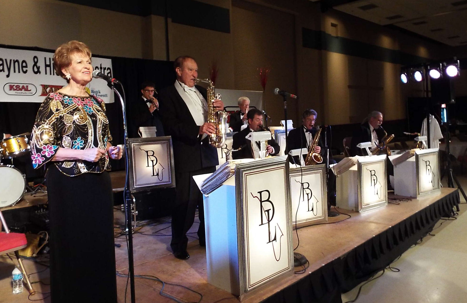 The Bobby Layne Orchestra performs.
