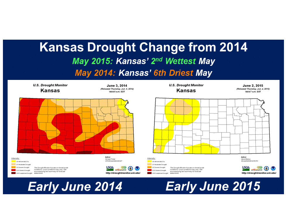Recent Rain Eases Kansas Drought