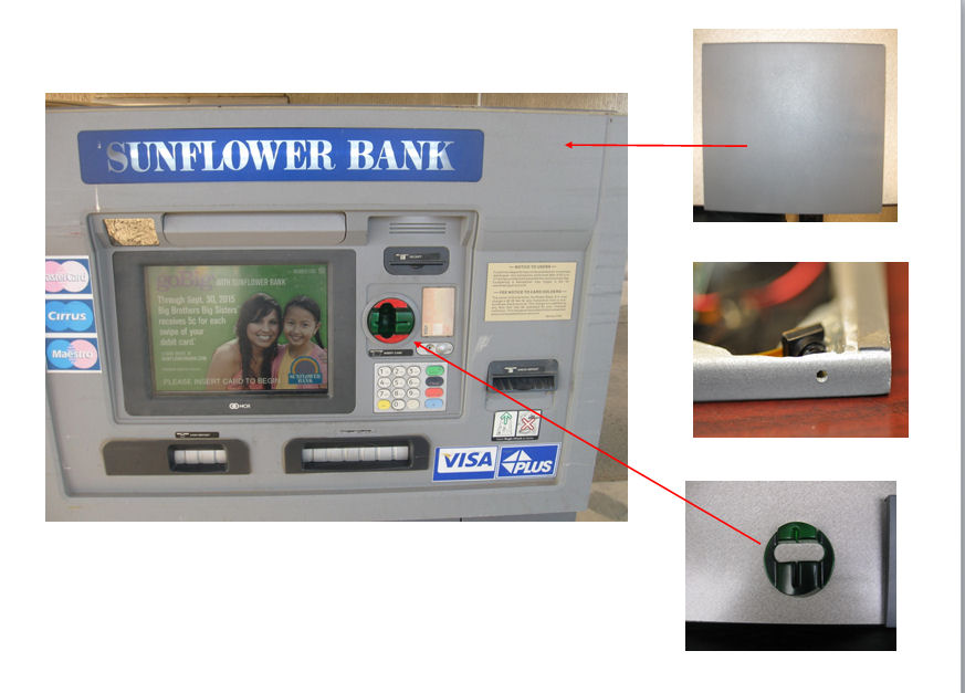 UPDATE: Theft Devices On Salina ATMS