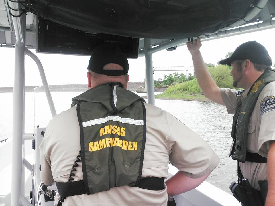 Game Warden Testing Event In Salina