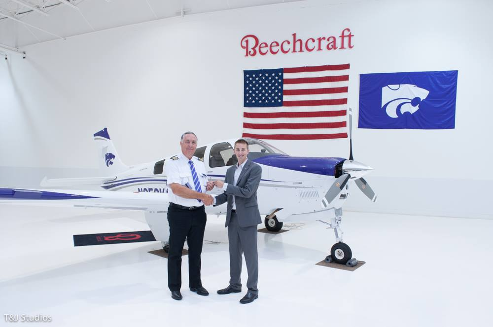 First Of Four New Airplanes For KSU Salina