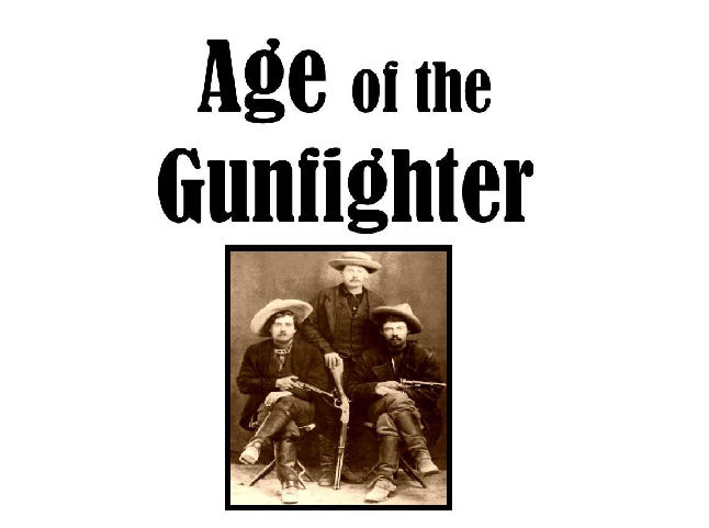 Wyatt Earp Re-enactor's Guns, Ammo Stolen