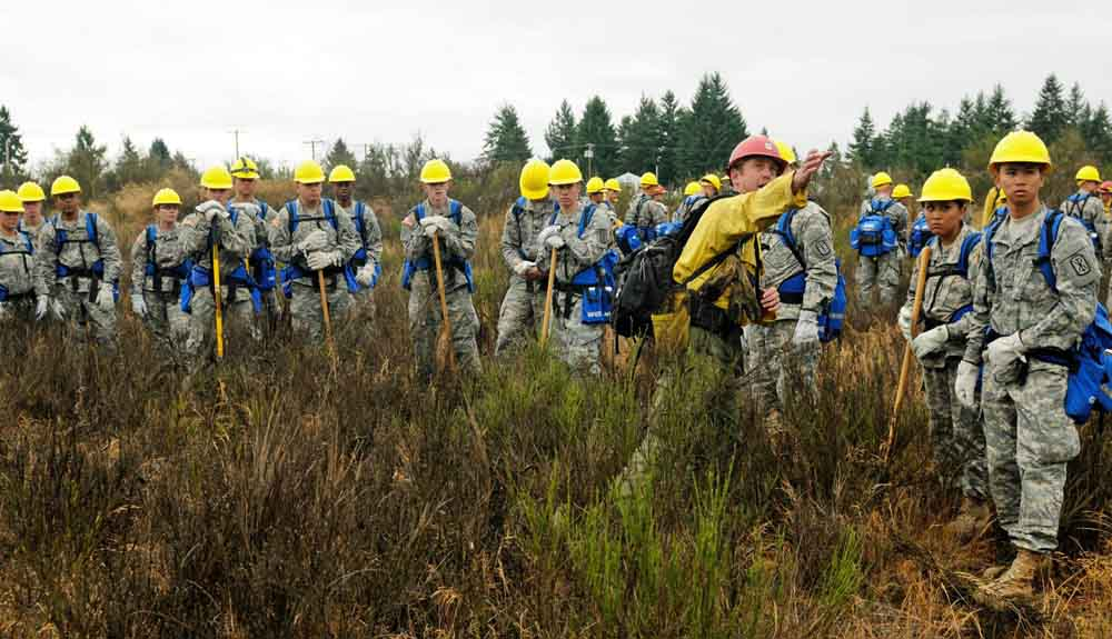 Fort Riley Soldiers Providing Wildfire Aid