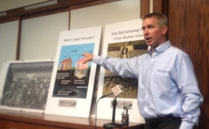 Contamination Plume Sinking Deeper