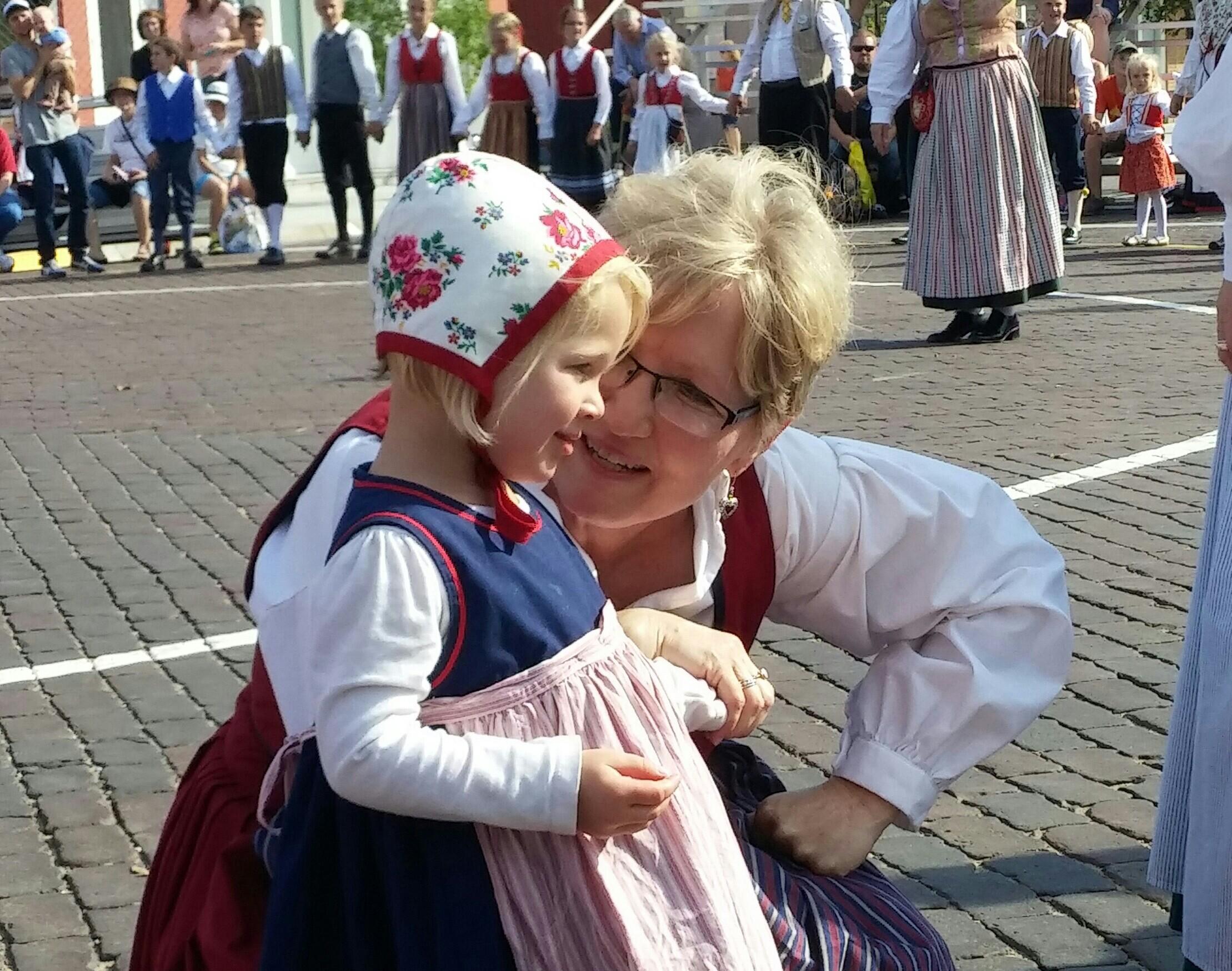 Generational Joy in Little Sweden
