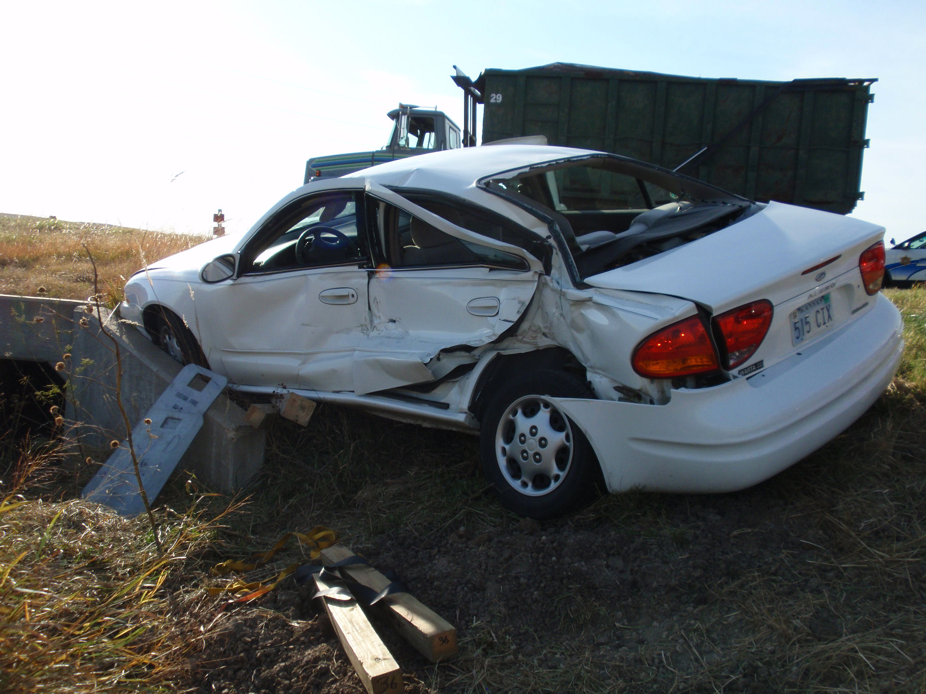 Elderly Driver Killed in Crash