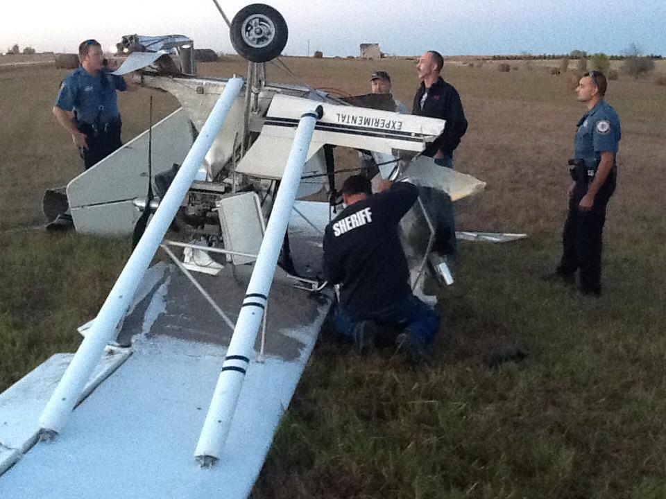UPDATE: Pilot Killed In Crash Near Salina