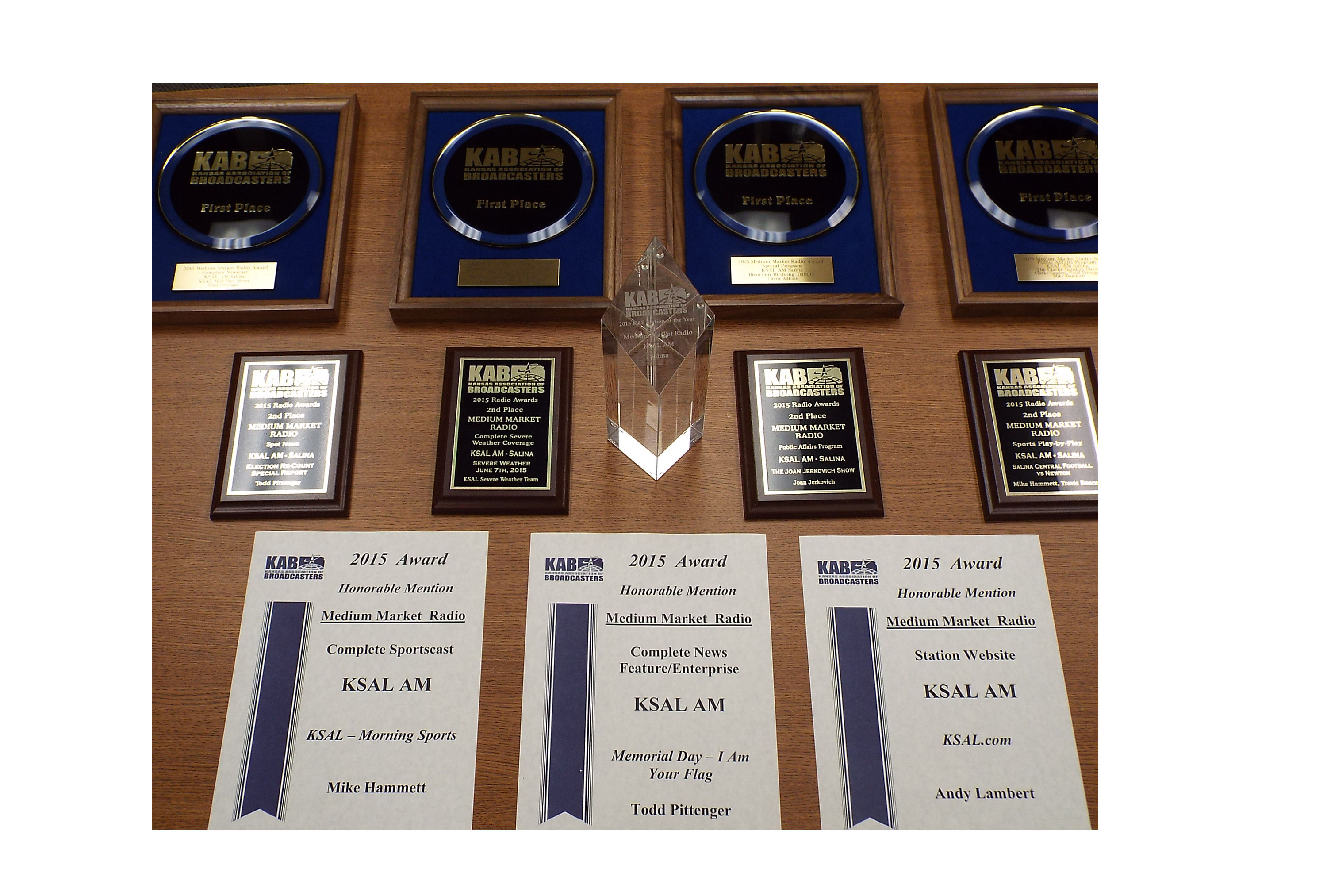 KSAL Honored as Station of the Year