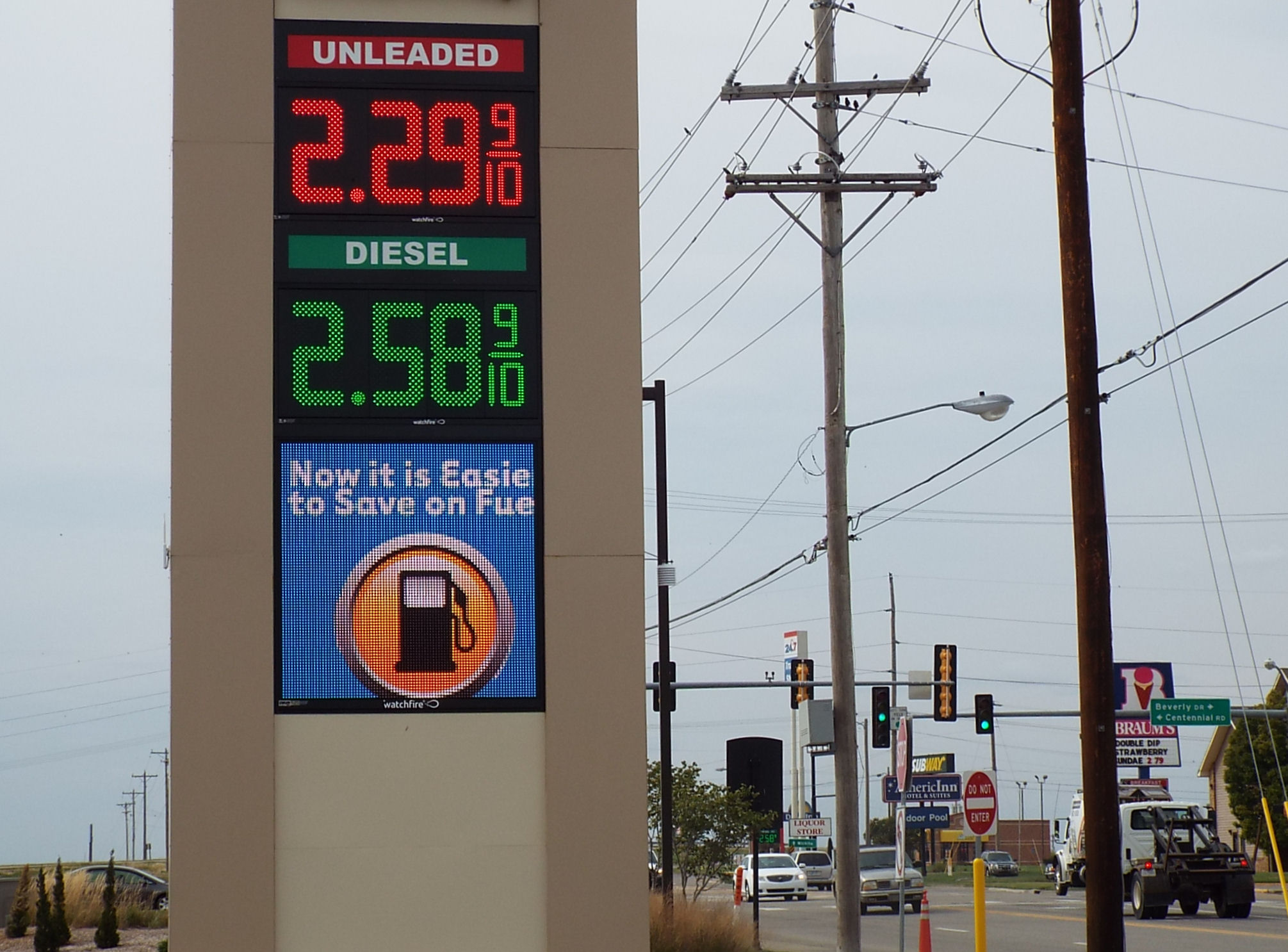 Gas Prices Take Quick Jump