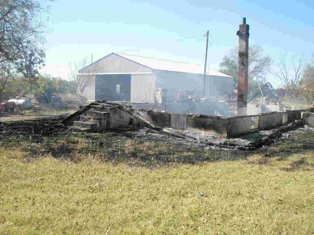 County House Fire Leaves Nothing in Wake