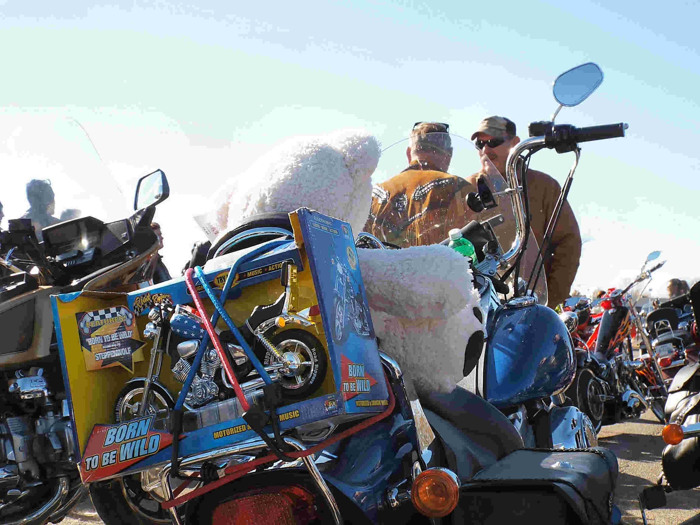 Area Bikers to Deliver Toys
