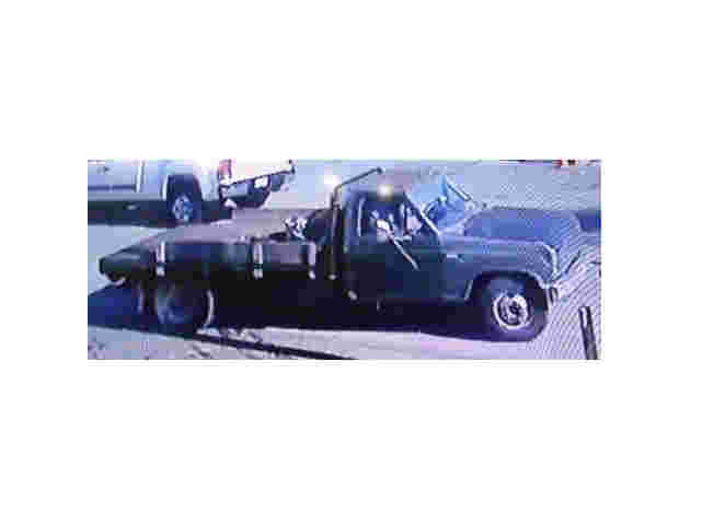 Police Seek Owner of Truck