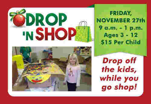 Zoo Offers 'Drop N' Shop'  Event