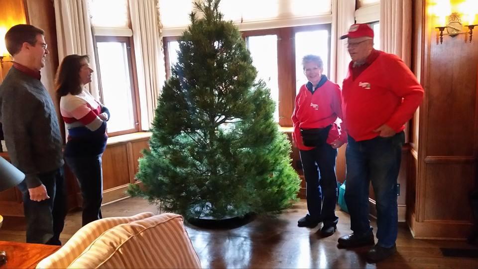 Governor's Christmas Tree Arrives