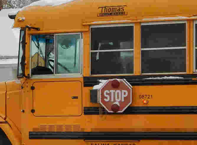 Injuries Reported in School Bus Rollover