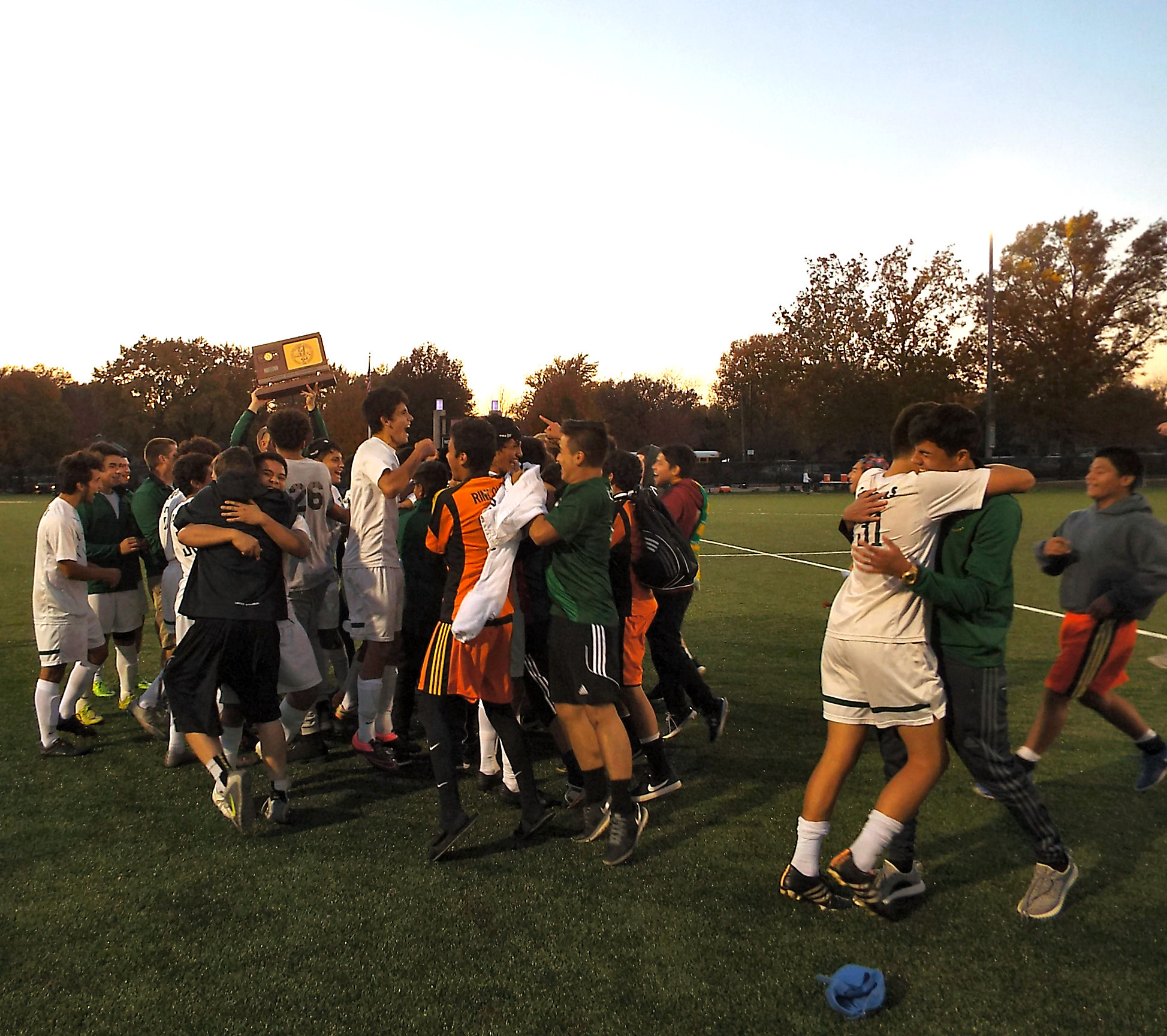 South Stunner: Cougar Soccer Wins State