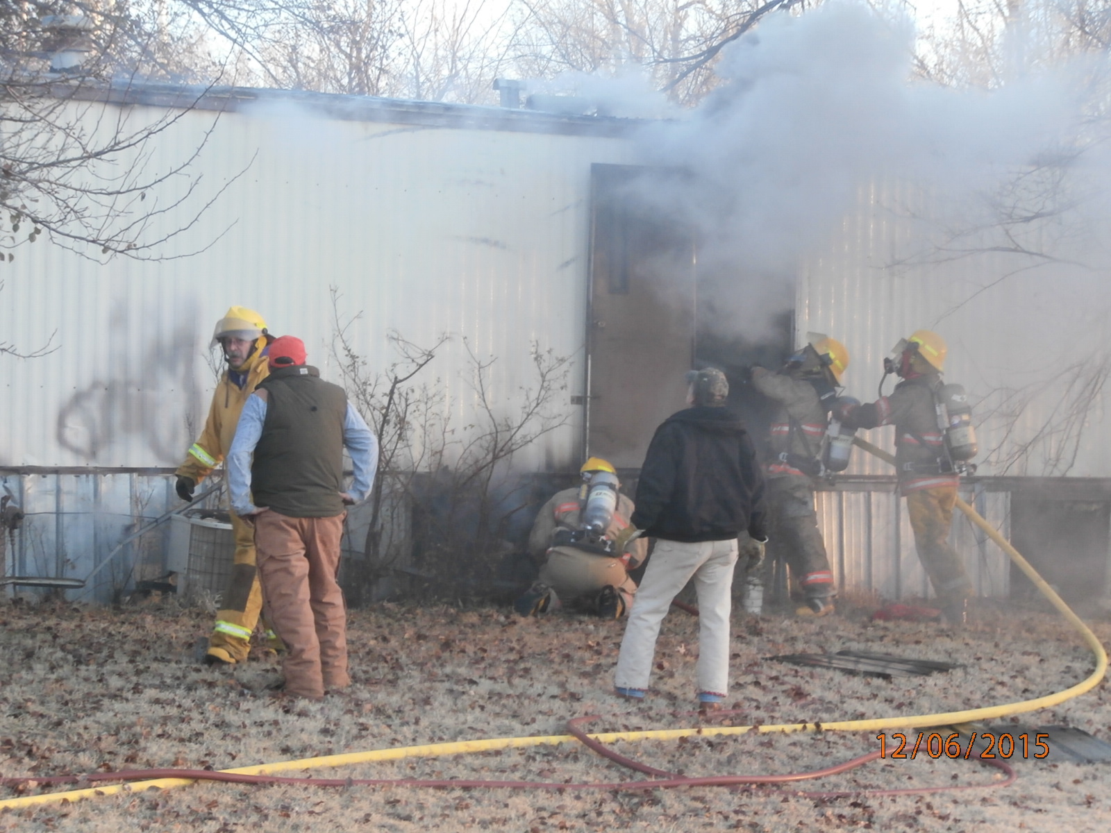 Trailer Fire Leaves County Family Without Home