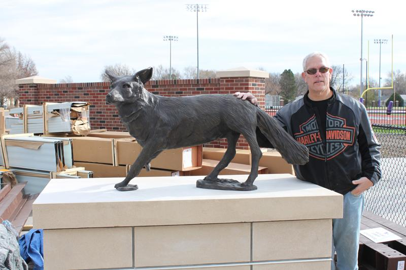 Sculpture Installed at New KWU Stadium