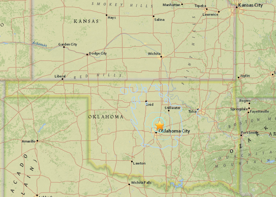 Strong Earthquake Rattles Midwest