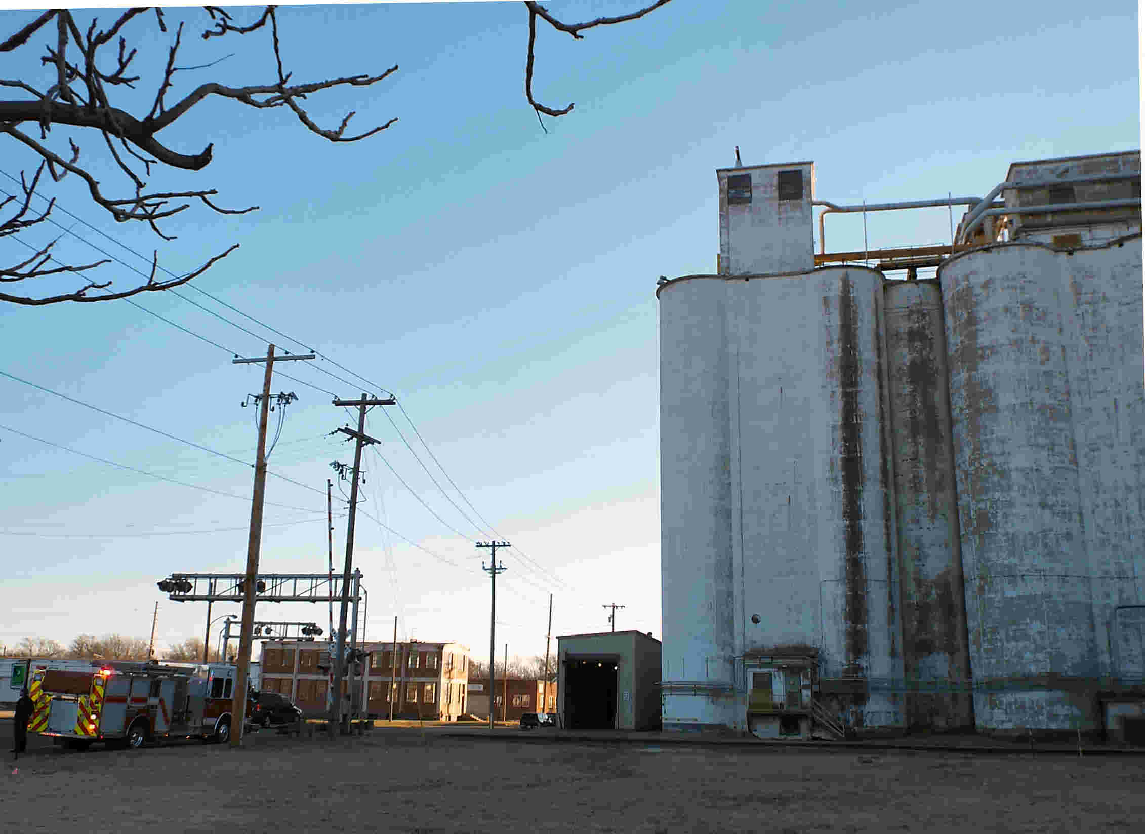 Grain Elevator Briefly Evacuated