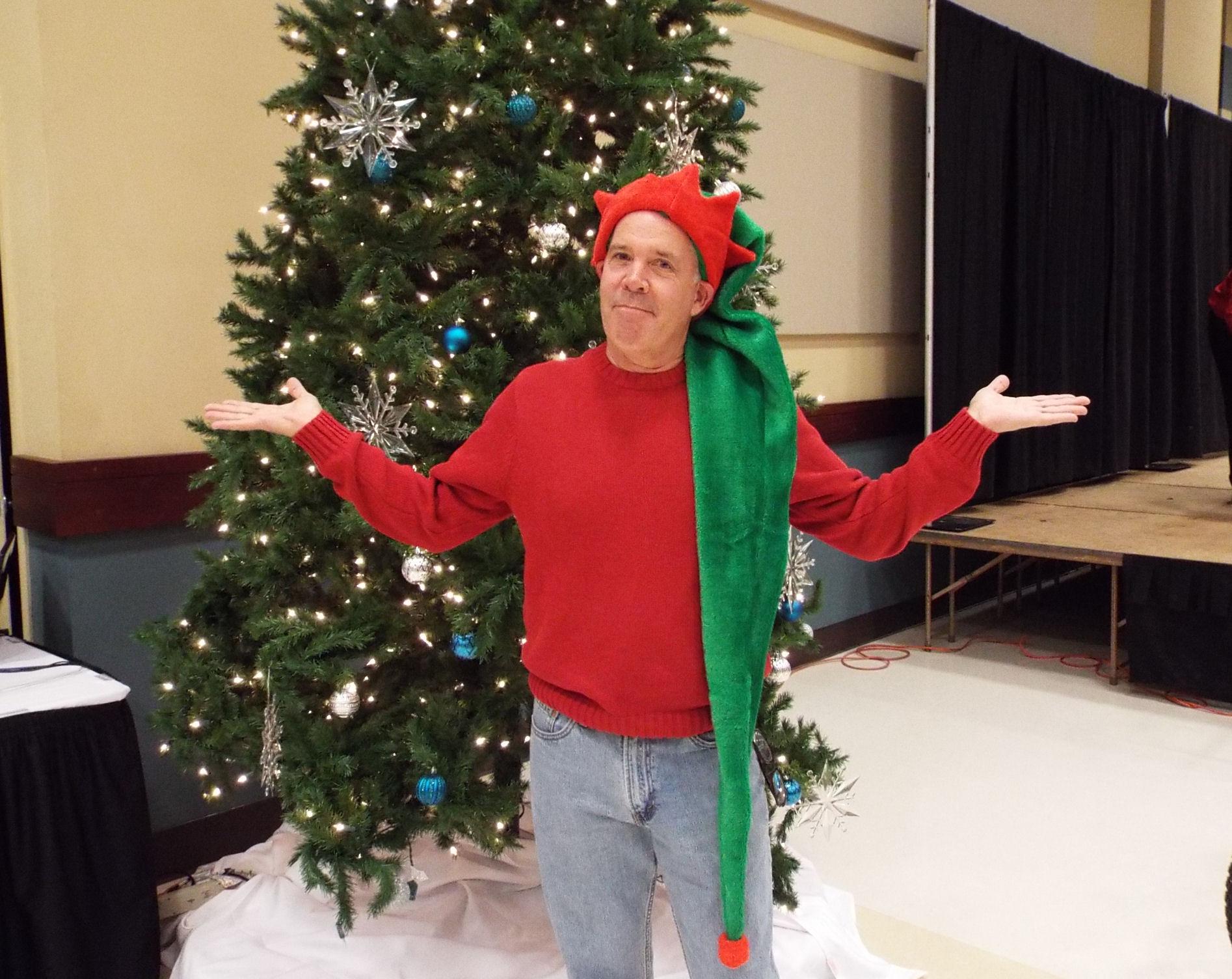 Jugglers, Dancers, Twirlers, and Santa
