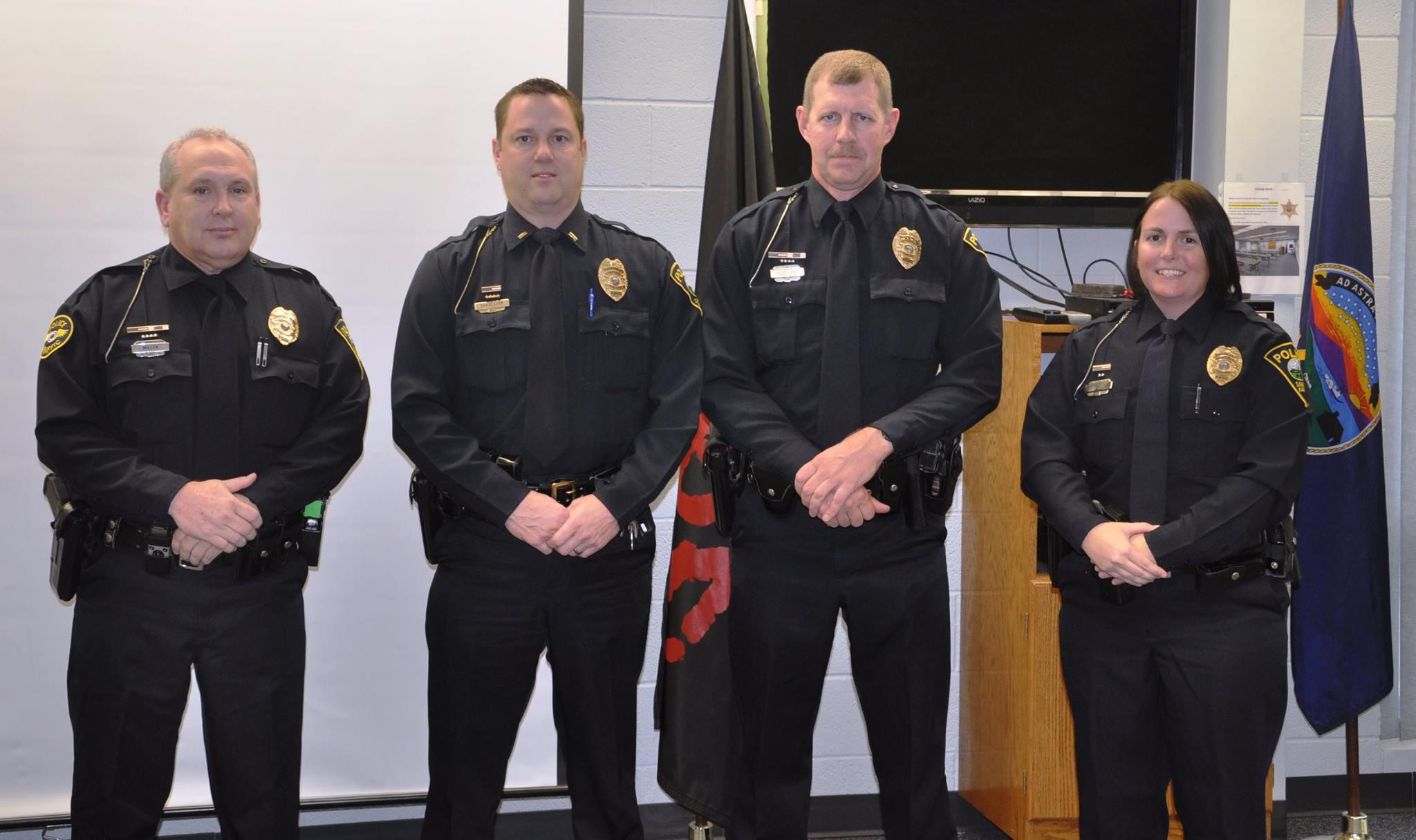 Salina Police Promote Four
