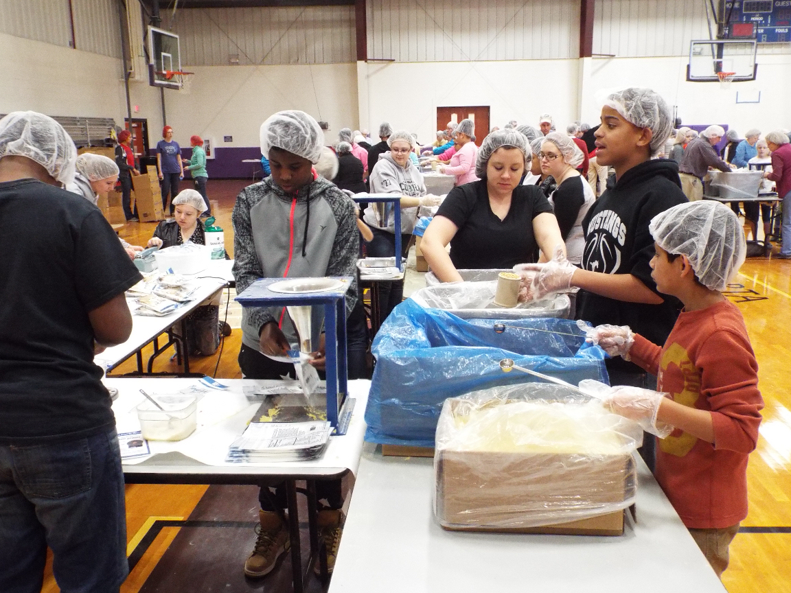 Salina Unites To Feed Starving Children