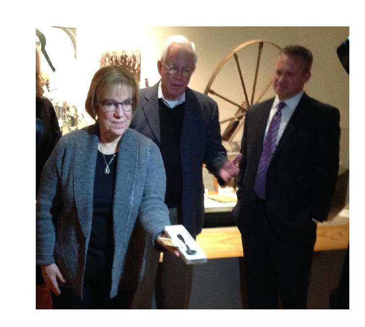 Historical Spoon Given to Kansas Museum