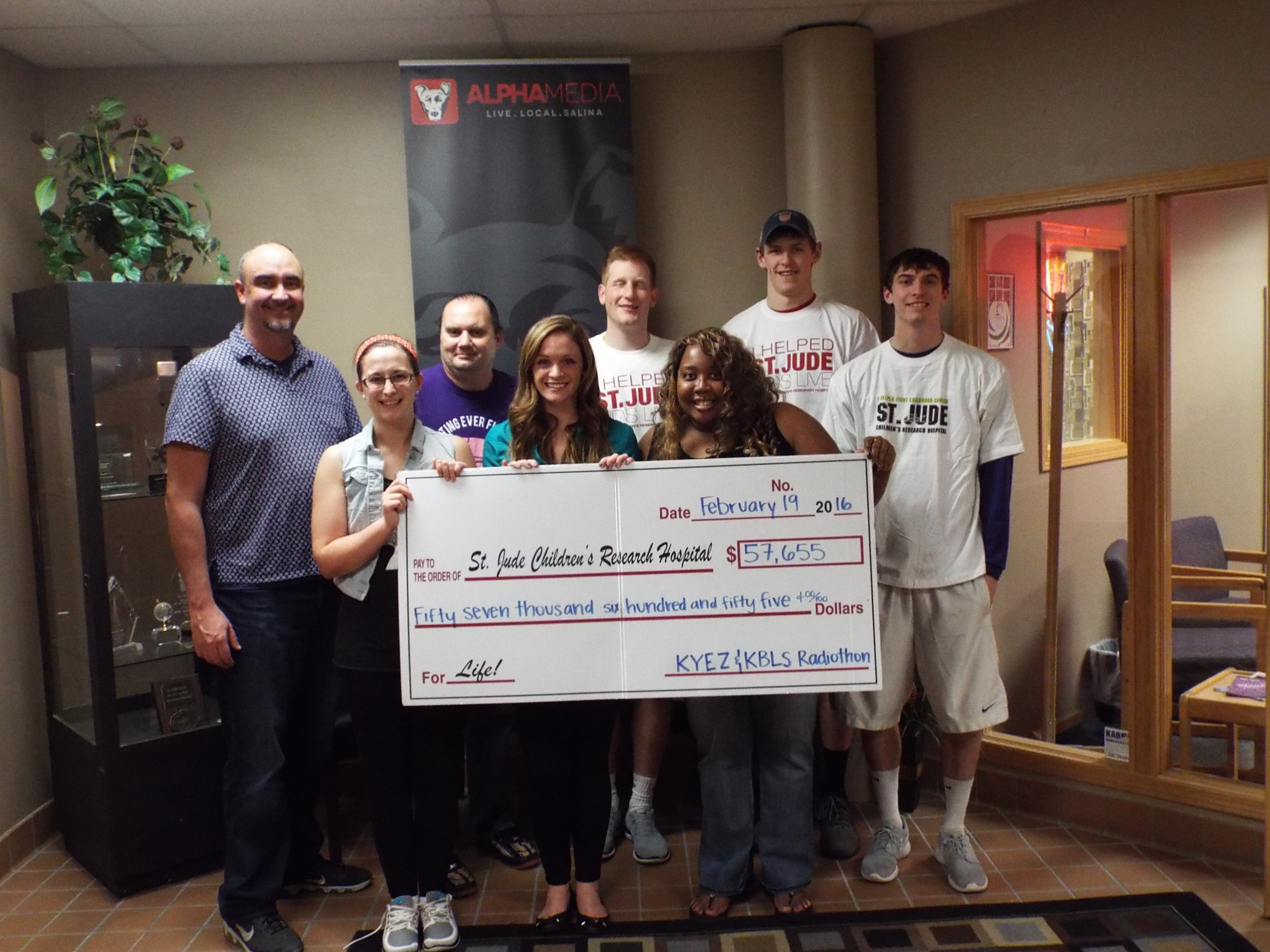 Radio Raises Nearly $60,000 For Childhood Cancer