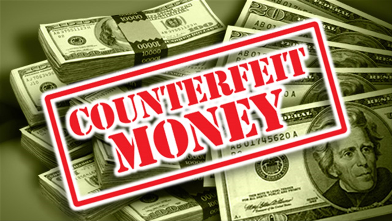 More Counterfeit Money Surfaces