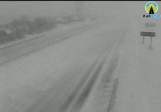 Intestate 70 east of Hays Tuesday afternoon.