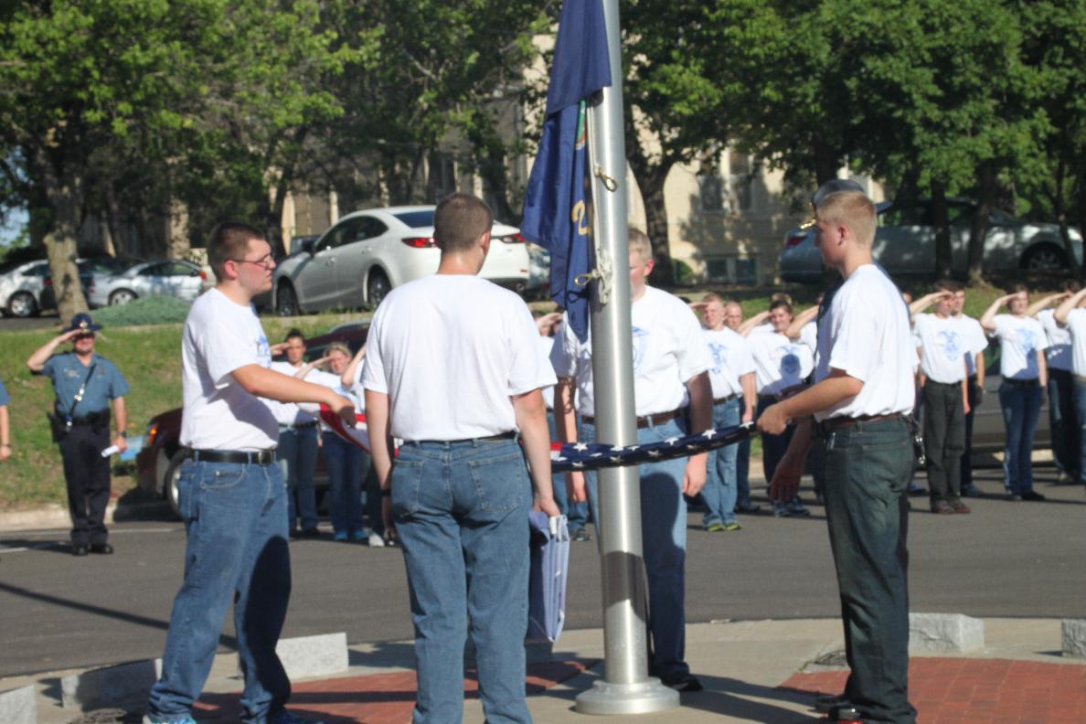 Salina KHP Training Academy Offers Cadet Program