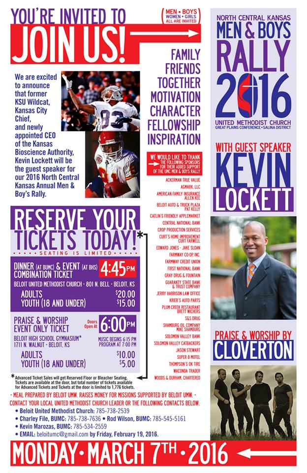 Kevin Lockett to Speak at Beloit Rally