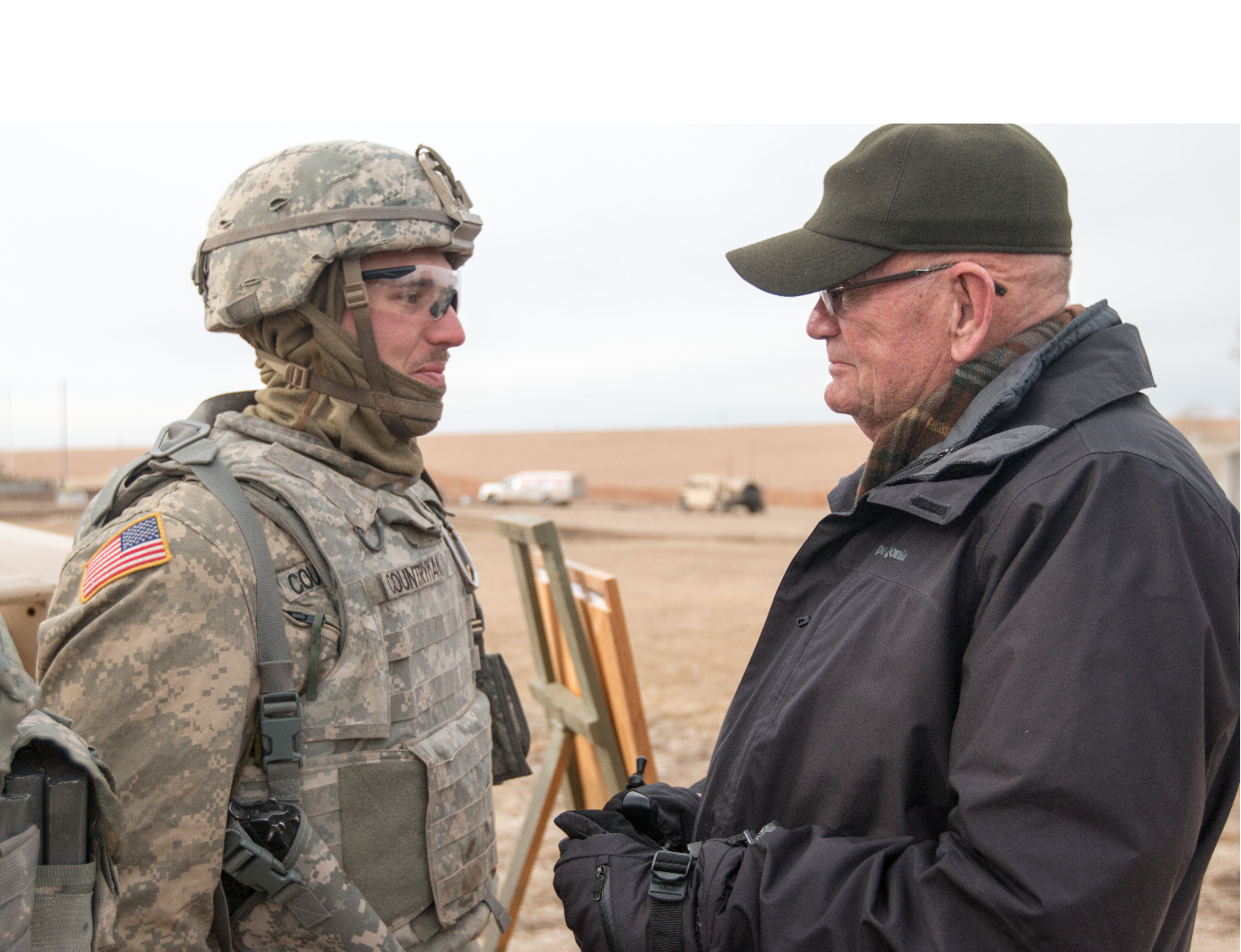 Former Commander Proud To Be A Soldier
