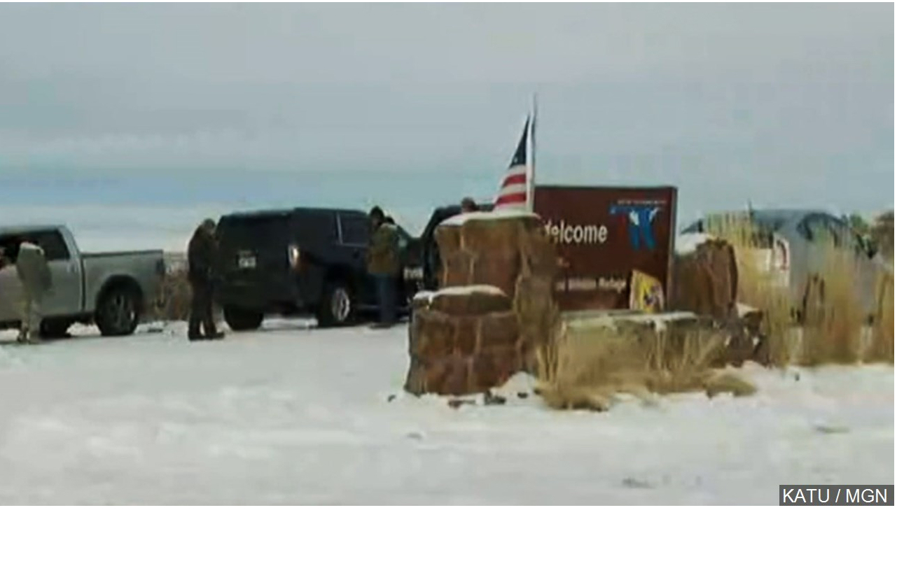 Ranching Protester Arrested on Kansas Warrant