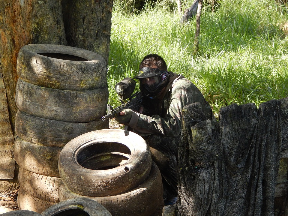 Paintball to The Rescue