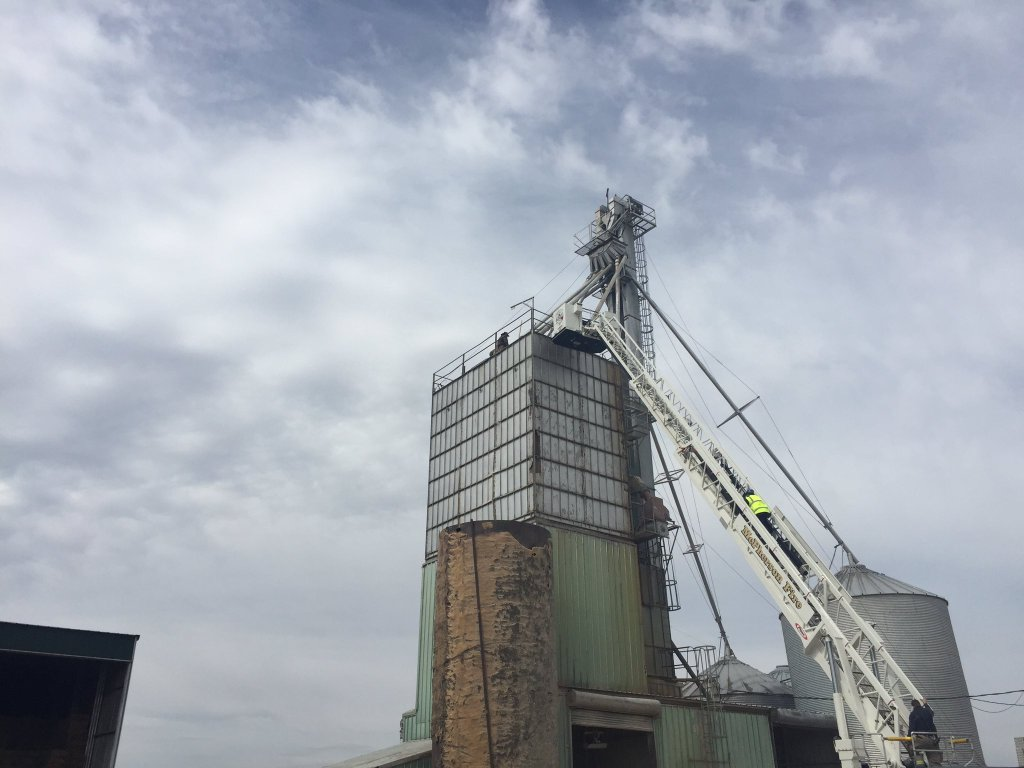 UPDATE: Man Rescued From McPherson County Grain Bin